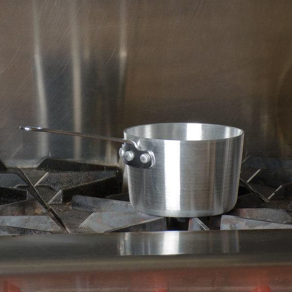 Vollrath 7341 Arkadia 1.5 Qt. Aluminum Sauce Pan