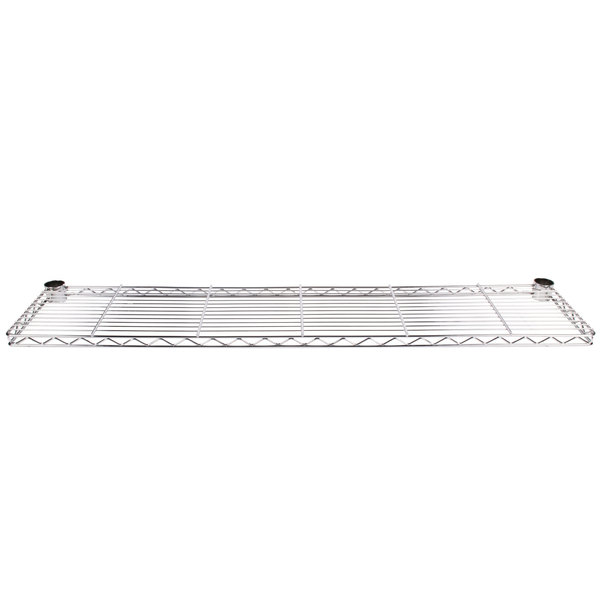 "Metro 1260CHS 60"" Stainless Steel Cantilever Overhead Shelf"