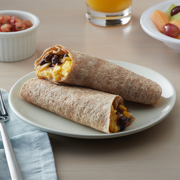 "Father Sam's Bakery 12-Count 10"" Multigrain Tortilla Wraps - 12/Case Main Image 2"