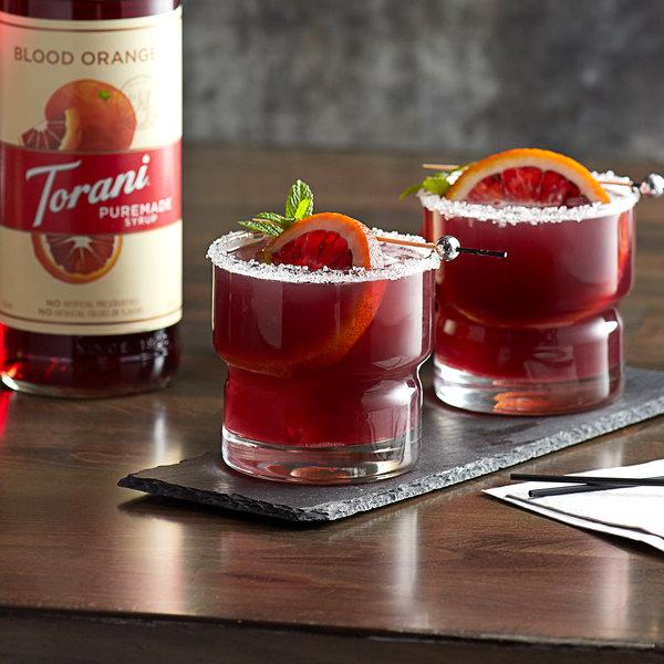 Torani 750 mL Puremade Blood Orange Flavoring Syrup Main Image 2