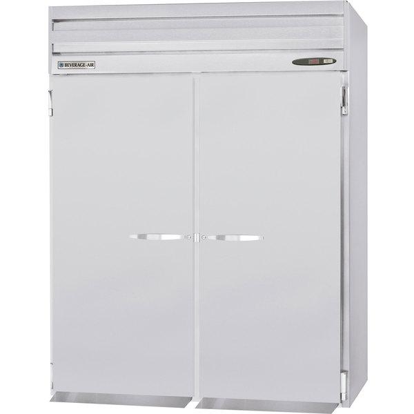 beverage air pfi2 5as 66 solid door top mounted roll in freezer rh webstaurantstore com