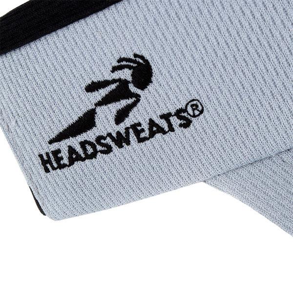 810346f9e5127 Gray Headsweats Customizable CoolMax Chef Visor
