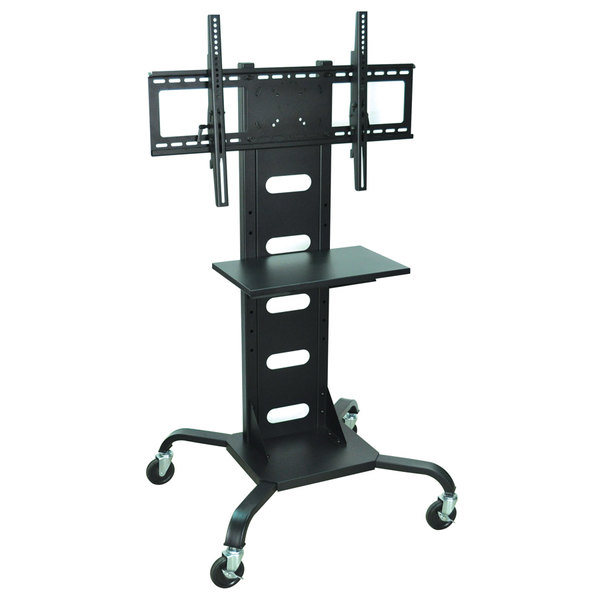 """Luxor WPSMS51 Flat Panel TV Cart with Shelf for 37"""" to 60"""" Screens"""
