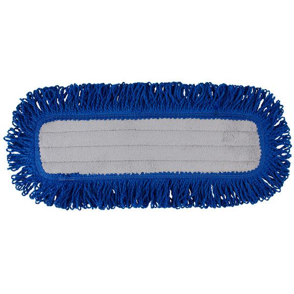 "Knuckle Buster MFVM18 18"" Microfiber Dry Velcro® Dust Mop Main Image 1"