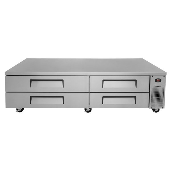 "Turbo Air TCBE-82SDR 84"" Four Drawer Refrigerated Chef Base"