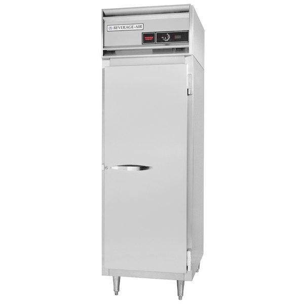 "Beverage-Air PH1-1HS-PT 26 1/2"" Solid Half Door Pass-Thru Heated Holding Cabinet - 1,500W Main Image 1"