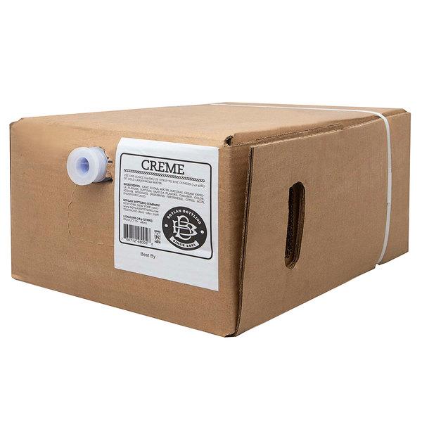 Boylan Bottling Co. 5 Gallon Bag in Box Creme Soda Beverage / Soda Syrup