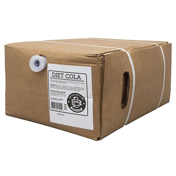 Boylan Bottling Co. 5 Gallon Bag in Box Diet Cane Cola Beverage / Soda Syrup