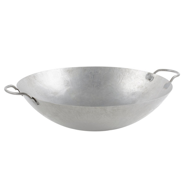 Town Food Service 18 Inch Steel Canontese Style Wok