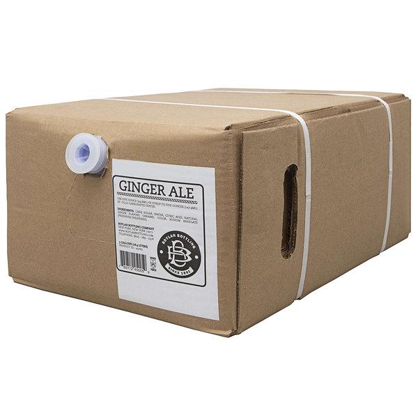 Boylan Bottling Co. 5 Gallon Bag in Box Ginger Ale Beverage / Soda Syrup