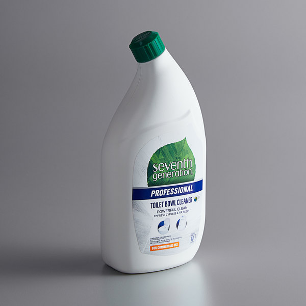 Seventh Generation 44727 Professional 32 oz. Emerald Cypress and Fir Toilet Bowl Cleaner - 8/Case Main Image 1
