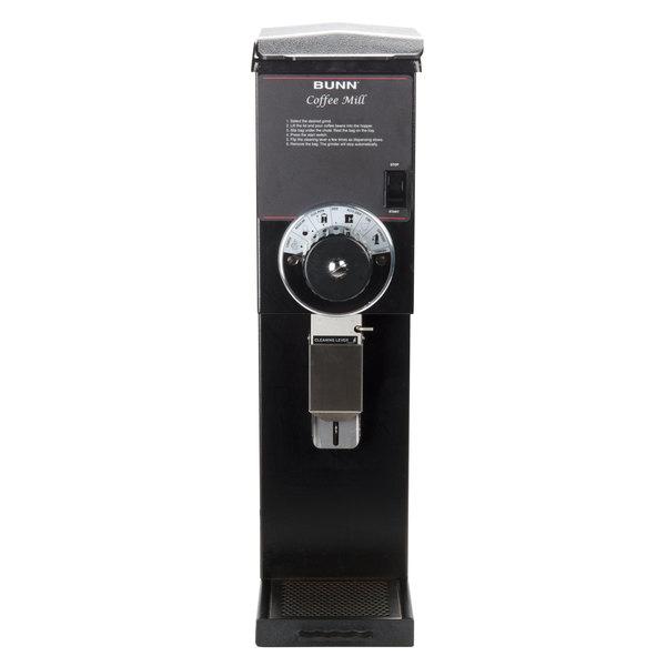 Bunn 22100.0000 G3 HD 3 lb. Black Bulk Coffee Grinder