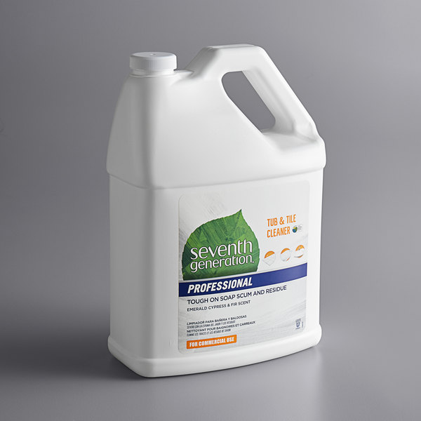 Seventh Generation 44722 Professional 1 Gallon Emerald Cypress and Fir Tub and Tile Cleaner - 2/Case Main Image 1