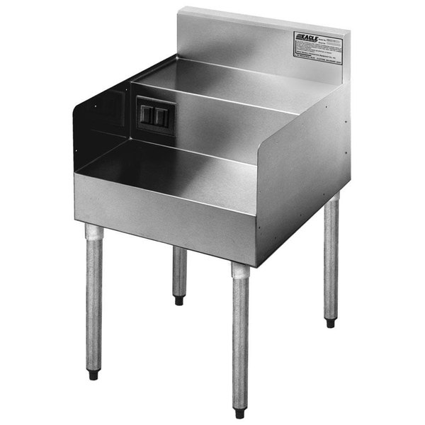 """Eagle Group MA6-22 18"""" Double Step Down Modular Add-On for 2200 Series Underbar Units Main Image 1"""