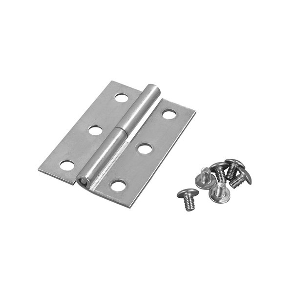 CaterGator Stainless Steel Ice Caddy Lid Hinge for CaterGator 125 lb. Mobile Ice Bins Main Image 1