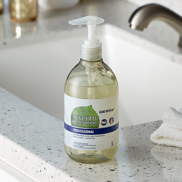 Seventh Generation 44729 Professional 12 oz. Unscented Hand Soap - 8/Case Main Image 2
