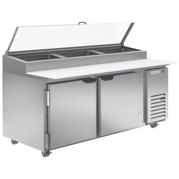 """Details about  /COOLTECH New 2-1//2 Door Refrigerated Pizza Prep Table 72/"""""""