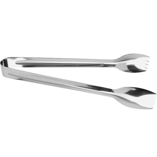 """GET BSRIM-39 12"""" Stainless Steel Tongs with Mirror Finish"""