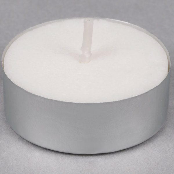 Sterno Products 5 Hour Saf-T-Lite Votive / Tea Light Candle - 50/Pack