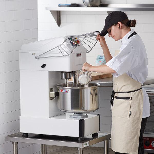 Estella SM20 20 qt. / 30 lb. Two-Speed Spiral Dough Mixer - 120V, 2 HP Main Image 5