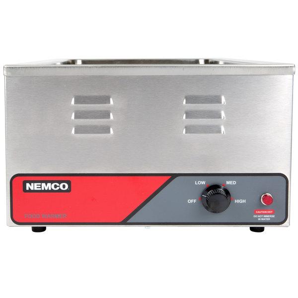 "Nemco 6055A 12"" x 20"" Countertop Food Warmer - 120V, 1200W"