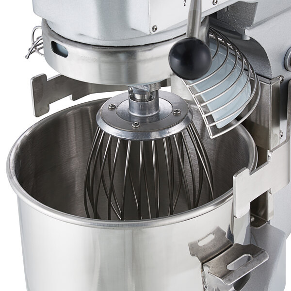 General Commercial Planetary Mixer 10 Quart 3 Speed Gear Drive .5 Hp Motor 120V Model Gem110 by General