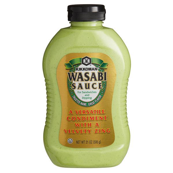 Kikkoman 21 oz. Wasabi Sauce Bottle