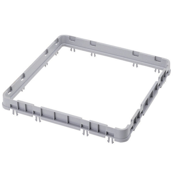 Cambro E3151 Soft Gray Full Size Open Camrack Extender
