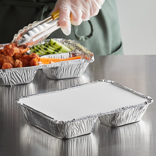 10 PCS Take Out Takeaway-Food Box Aluminum Foil Container Storage MLC