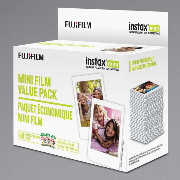 Fujifilm 600016111 Instax Mini Film Main Image 1