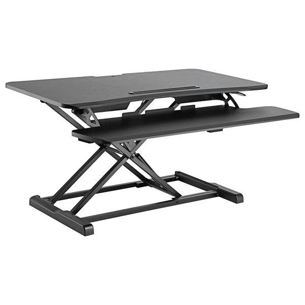 "Alera ALEAEWR4B AdaptivErgo WorkRise Adjustable Stand Up Desk - 37 3/8"" x 26 1/8"""