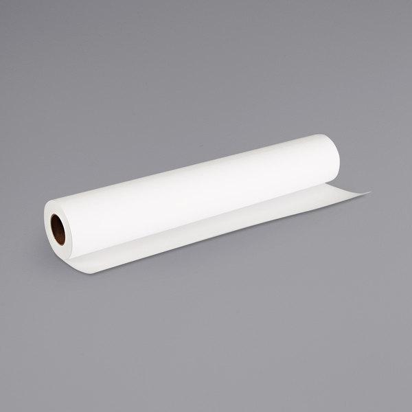 "Canon 1099V649 100' x 24"" White 6 Mil High Resolution Matte Coated Bond Paper Main Image 1"
