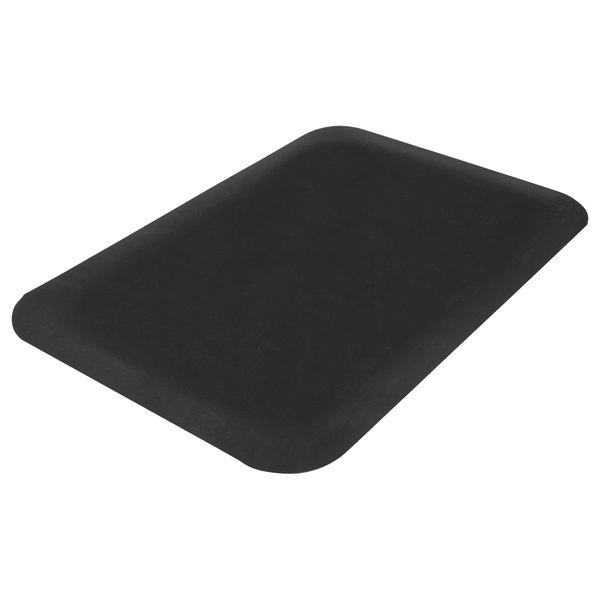"Guardian 44030535 Pro Top 36"" x 60"" Black Anti-Fatigue Floor Mat Main Image 1"
