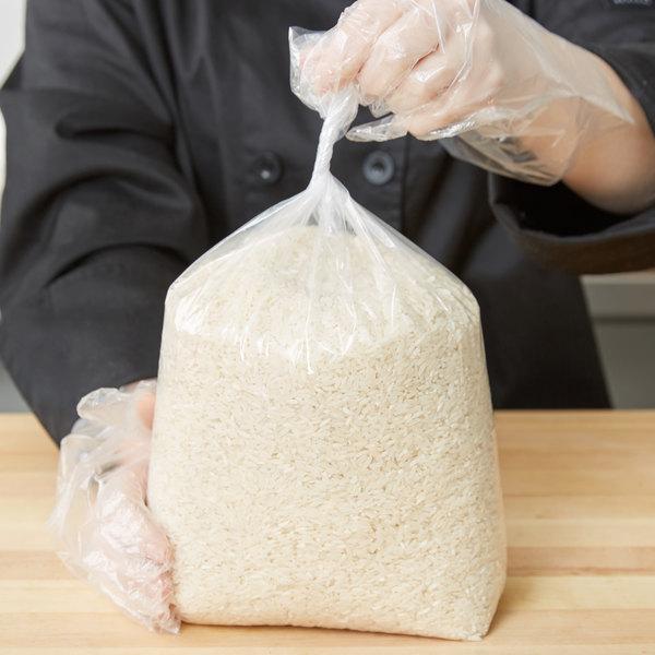 """Elkay Plastics 15G-063015 Plastic Food Bag 6"""" x 3"""" x 15"""" - 1000/Box"""
