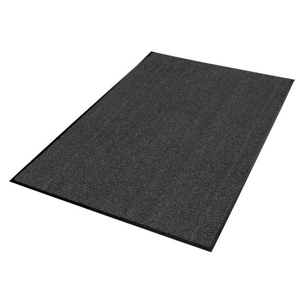 "Guardian 94040630 Platinum Series 48"" x 72"" Gray Indoor Wiper Mat"