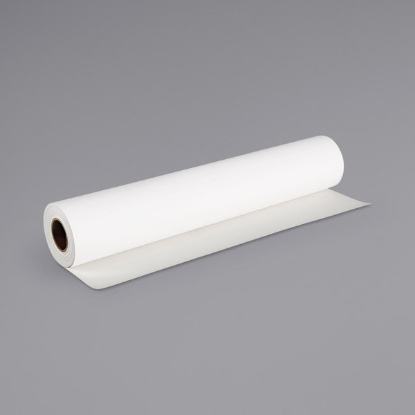 "Canon CNM0849V39603 40' x 24"" White 24 Mil Matte Canvas Paper Roll Main Image 1"