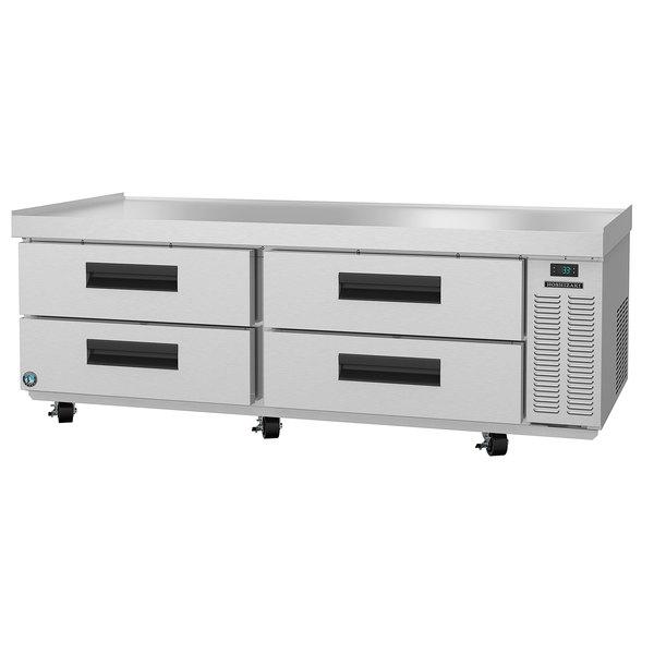 "Hoshizaki CR72A 72 1/2"" 4 Drawer Refrigerated Chef Base Main Image 1"