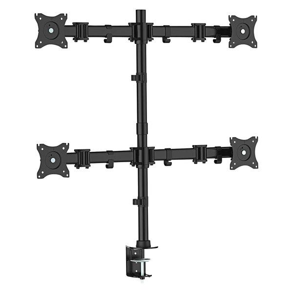 Kantek MA240 Black Quad Monitor Arm
