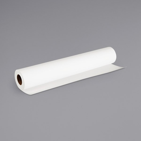 "Canon 0849V349 100' x 24"" White 8 Mil Matte Coated Paper Roll Main Image 1"