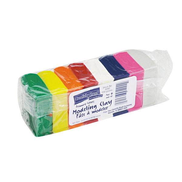 Creativity Street 4092 Assorted Bright Modeling Clay