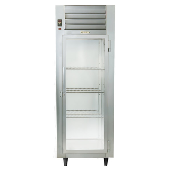 Traulsen Stainless Steel RHF132W-FHG 24.8 Cu. Ft. Glass Door Single Section Reach In Heated Holding Cabinet - Specification Line