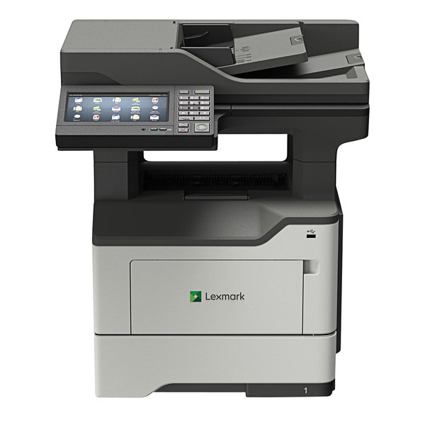 """Lexmark 36S0920 MX622ADHE Multifunction Monochrome Laser Printer with 7"""" Touchscreen and Hard Drive Main Image 1"""