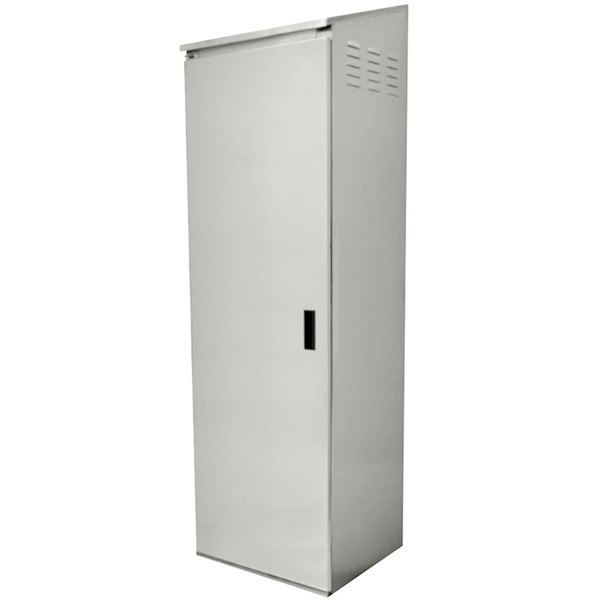 """Advance Tabco 9-OPC-84 Stainless Steel Mop Sink Cabinet - 25"""" x 22 5/8"""" x 84"""""""