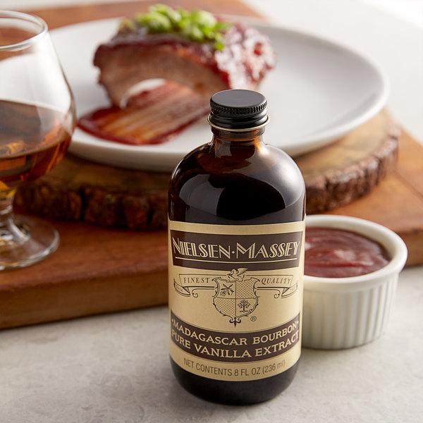 Nielsen-Massey 8 oz. Madagascar Bourbon Vanilla Extract