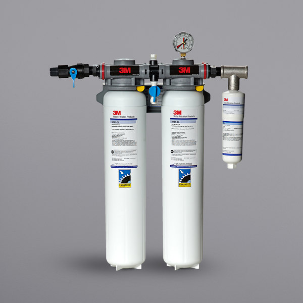 3M Water Filtration Products DP295-CL High Flow Series Multi-Equipment Water Filtration System - 5 Micron Rating and 5 GPM Main Image 1