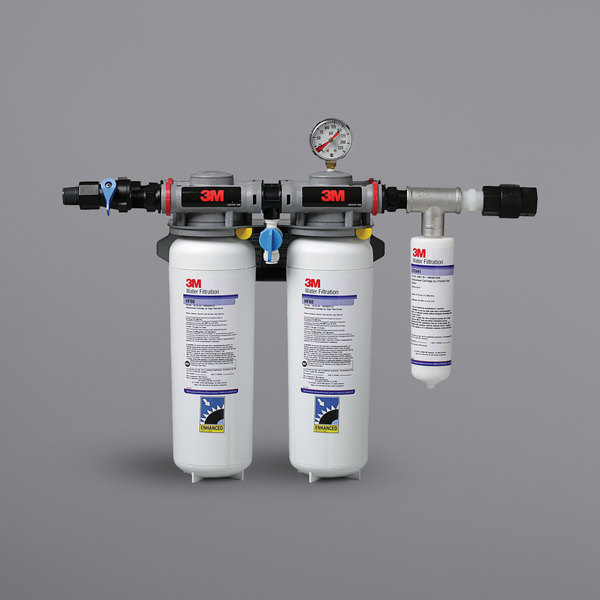 3M Water Filtration Products DP260 High Flow Series Multi-Equipment Water Filtration System - 0.2 Micron Rating and 6.68 GPM Main Image 1