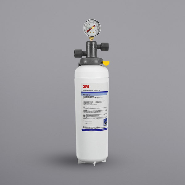 3M Water Filtration Products ICE165-S High Flow Series Water Filtration System - 3 Micron Rating and 3.34 GPM Main Image 1