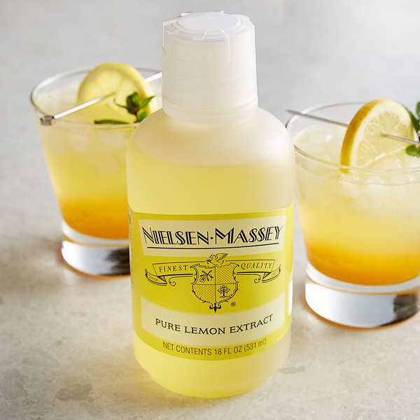 Nielsen-Massey 18 oz. Pure Lemon Extract Main Image 2