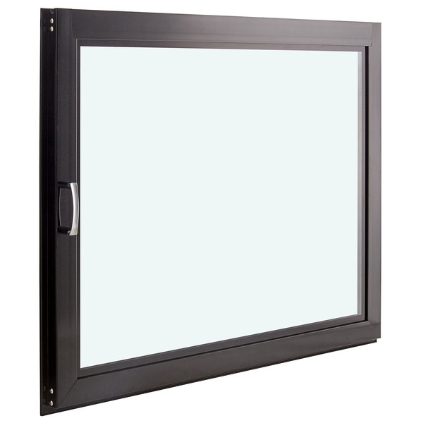 Avantco 19356975 Black Left Door for BC-60-HC and BCD-60 Main Image 1