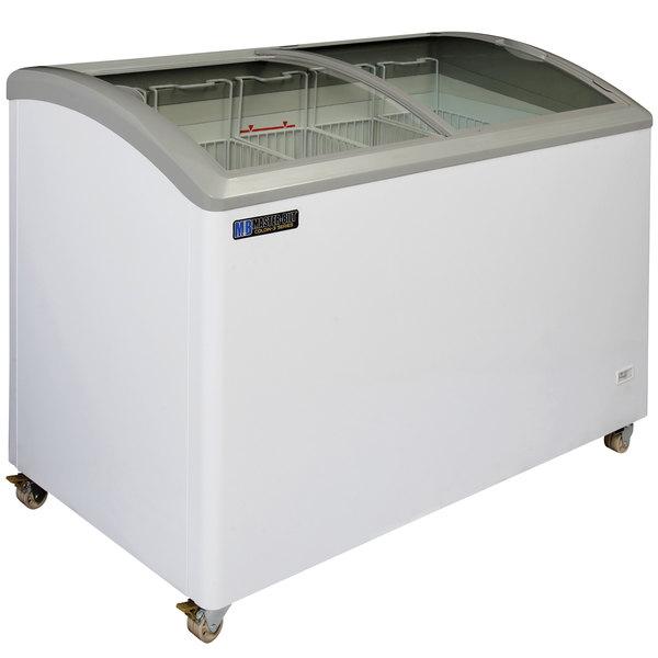 Master-Bilt Coldin-3 MSC-49A Curved Lid Display Freezer - 10.5 cu. ft.